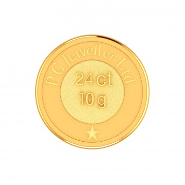 Buy Gold Coins Online In India 24kt Gold Coins Pc Jeweller